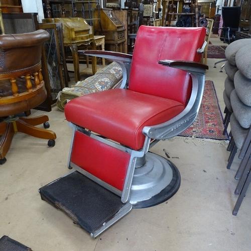 BELMONT - circa 1950s barber's chair