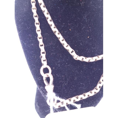85 - 9ct GOLD pocket watch chain, circa Edwardian 23