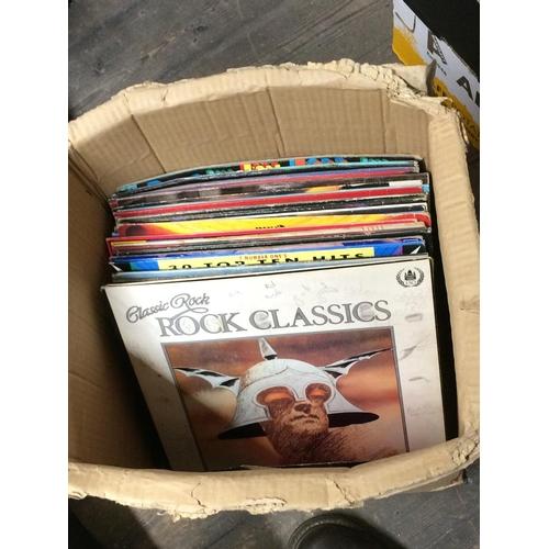 52 - Box of LP records...
