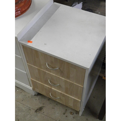 144 - Bedside drawers...