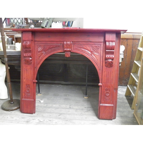 147 - Fire surround...