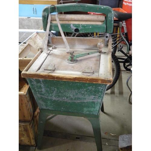 150 - Vintage Maxim washing machine with tongs...