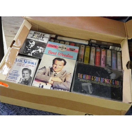 2 - Box of cassettes...