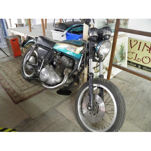 52 - Yamaha TX 750 Parallel Twin 1973  Very Rare!...