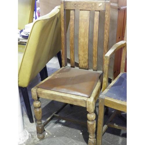 54 - Single dining room chair...