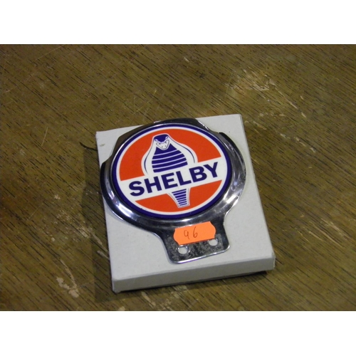 76 - Shelby Car Badge...