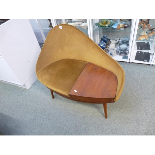419 - Rare Chippy Heath Telephone seat...