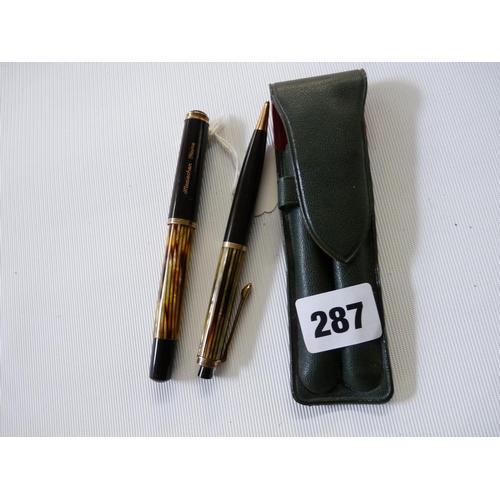 233 - Pelikan 400 Fountain Pen and a Pelikan 450 Pencil...