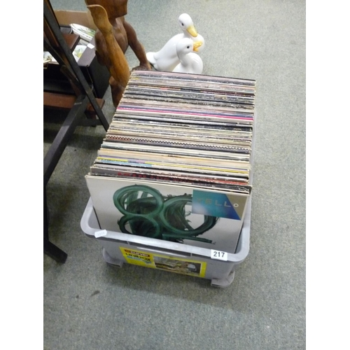 217 - Good Collection of Record to inc. David Bowie, Doors etc...