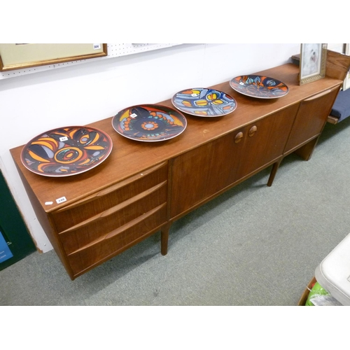 348 - Large Retro 1970s Sideboard of 3 Drawers and 3 Cupboards...