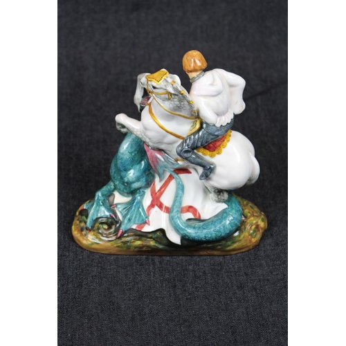 2 - Royal Doulton ' 'St. George' HN 2051 Figurine, 19cm in Height. Condition - Repair to Head...