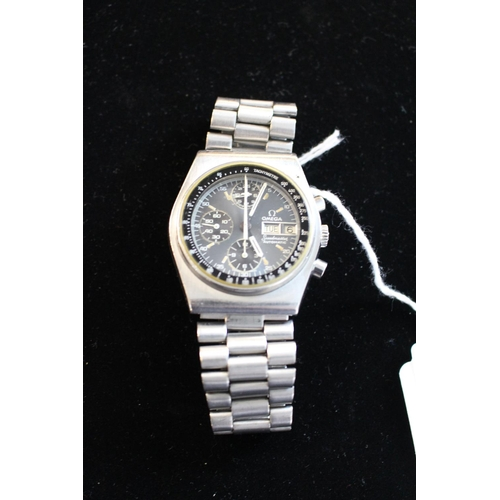 246 - Early Gents 1980s Omega Speedmaster Automatic wristwatch on Stainless Steel, 17 Jewels 176.0016...
