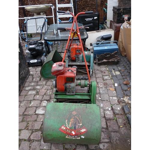17 - Suffolk Punch Lawn mower...