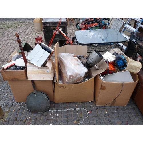 20 - 3 Boxes of assorted bygones and tools...