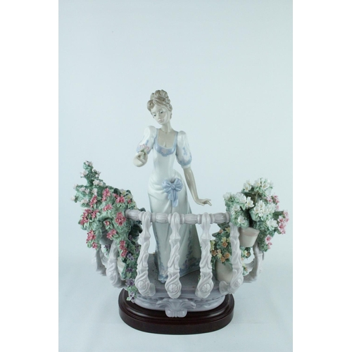 40 - Lladro 'Far Away Thoughts', Limited Edition 274 of 1500, Sculptor: Juan Coderch, Decorated by Perez ...