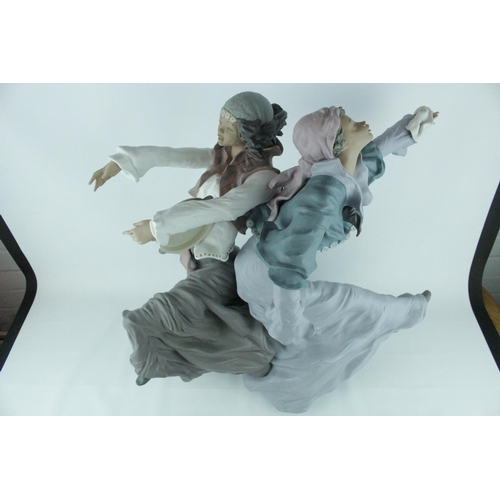 41 - Signed Lladro Goyesca 'Gypsy Dancers', Limited Edition 120 of 250, Sculptor: Enrique Sanisidro. Mode...