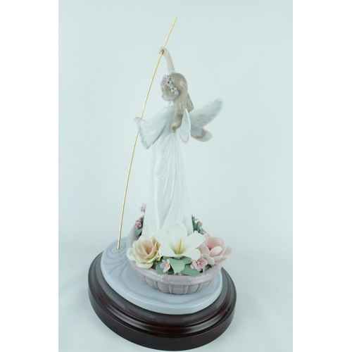 48 - Lladro 'Enchanted Lake', Limited Edition 2320 of 4000, Sculptor: Juan Coderch, Artist: P. Perez. Mod...