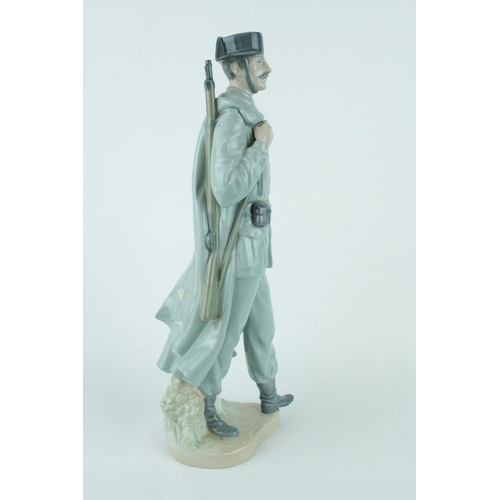 5 - Lladro 'Spanish Policeman', Sculptor: Salvador Furió. Model 01004889, Introduced in 1974 and Retired...
