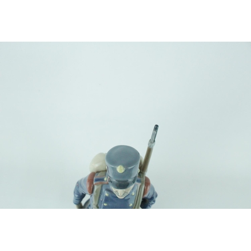 7 - Lladro 'Spanish Soldier', Sculptor: Salvador Furió. Model 01005255, Introduced in 1984 and Retired i...