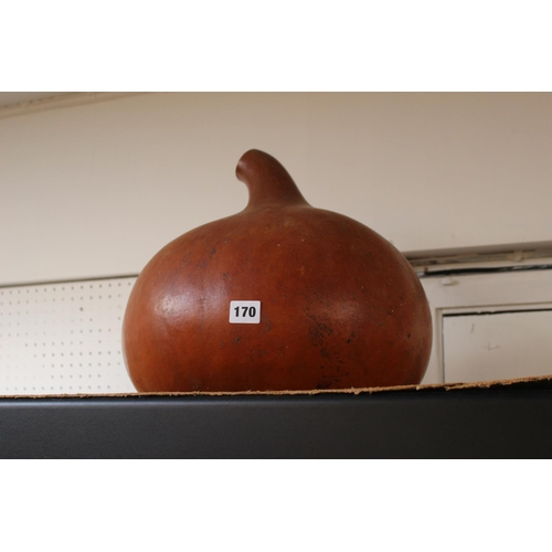 170 - Large Hollow Gourd ornament...