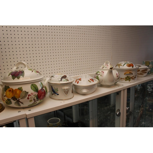 197 - Collection of Royal Worcester Ovenware and a Portmeirion Pomona Teapot...