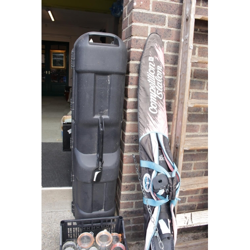28 - Competition Slalom Water Ski and a Golf Guard Caddy...