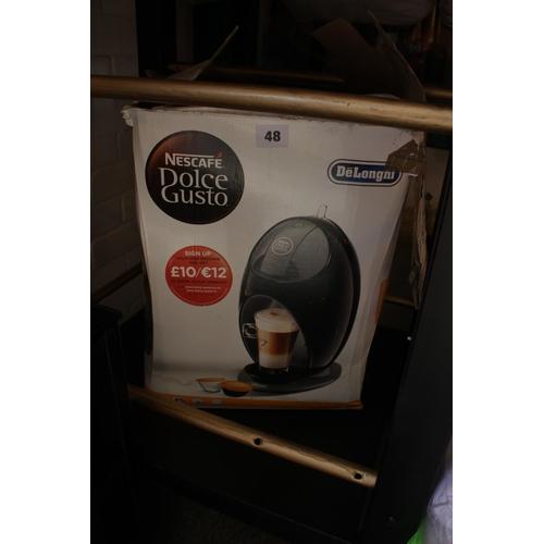 48 - De Longhi Dolce Gusto Coffee machine...