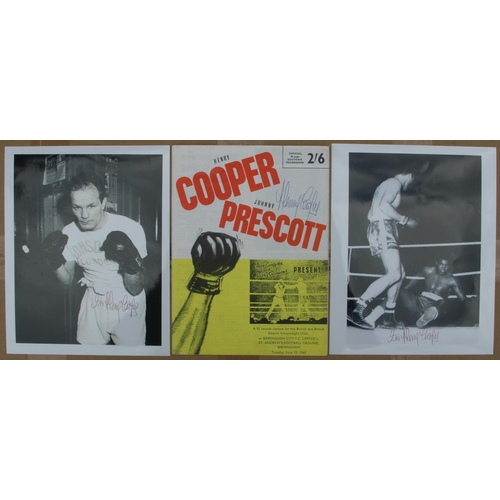 2 - Henry Cooper Collection, Iconic original photograph of Henry Cooper knocking down Muhammed Ali. Pers...