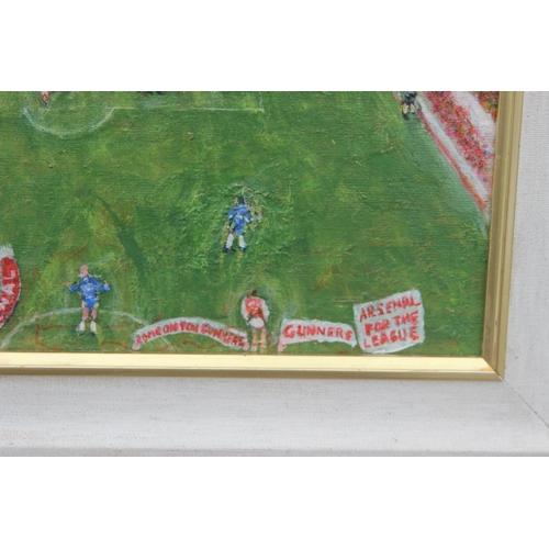 32 - G Don Smith (Exhibited Arts Council, Whitechapel Gallery, etc) Original framed acrylic