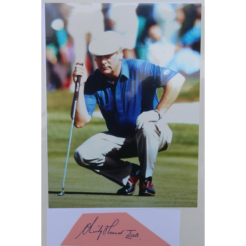 46 - A superb collection of 24 original autographs and 27 photographs of players some of whom also became...