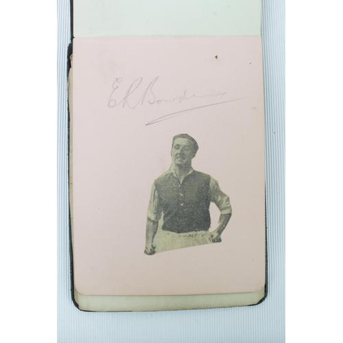 34 - 1930s Autograph album with Arsenal Football club signature Inc. Frank Moss, Jimmy Dunne, Bob John, C...