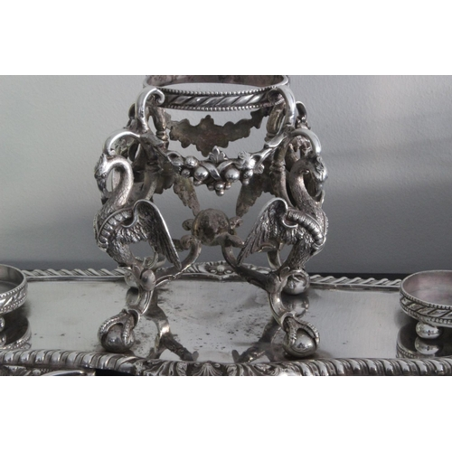 173 - Large James Deakin Victorian Table Centrepiece c1900 . A large stunningly ornate James Deakin & Sons...
