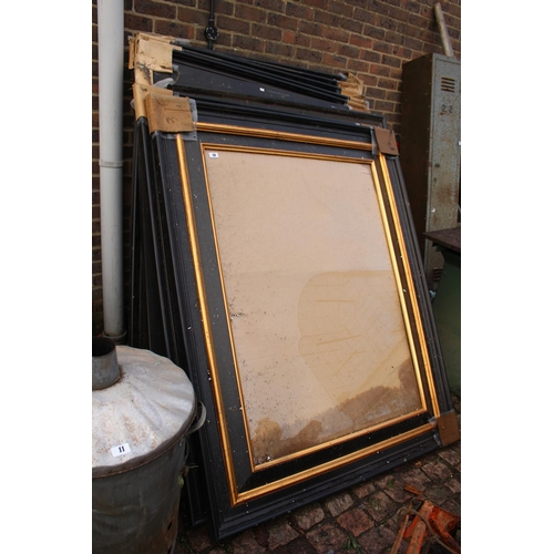 10 - Collection of Large Picture Frames...