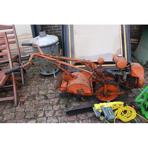 12 - Large Vintage Rotivator...