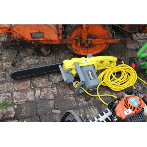 13 - Challenge Electric Chainsaw...