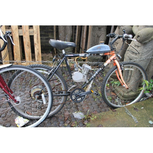 2 - Scott gents Petrol converted cycle...