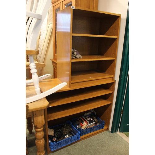 43 - 2 Modern bookcases...