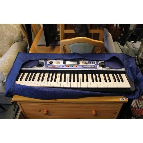 44 - Yamaha PSR 260 Keyboard...