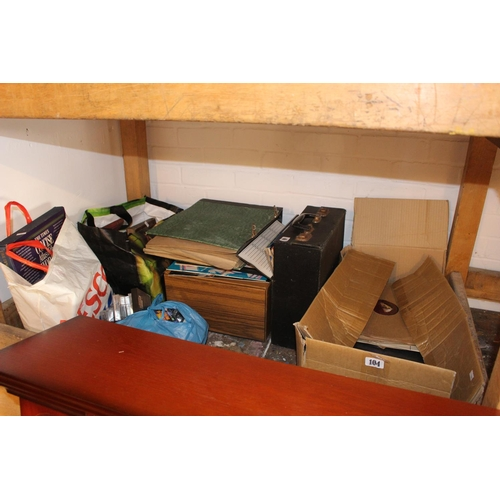 104 - Collection of assorted Records and books...