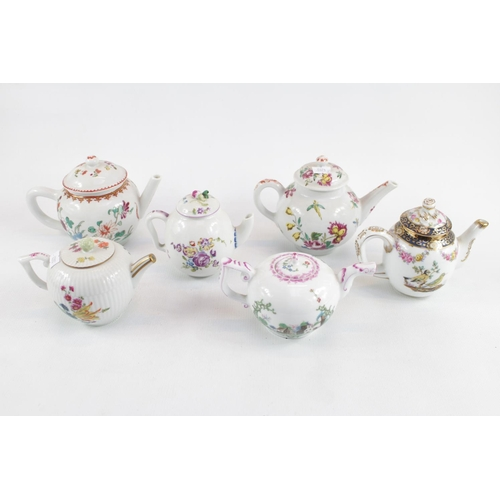 133 - Collection of 6 Victoria & Albert Museum Reproduction Teapots...