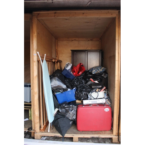 29 - Contents of a Storage Container to include House clearance Furniture and bygones, Ceramics etc...