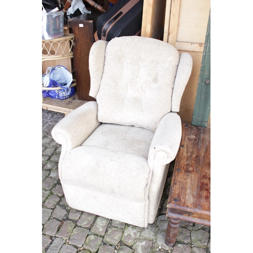 42 - Electric Reclining Elbow Chair...