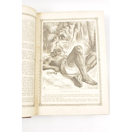 5 - Dalziels Illustrated Arabian Nights Entertainments published by Ward, Lock and Tyler, with later Lea...