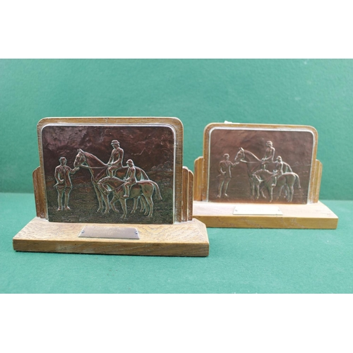 11 - Equine Interest, 2 Harry Hall Trophies for 'South of England Show dated 1980' and 'Blackpool and Fyl...