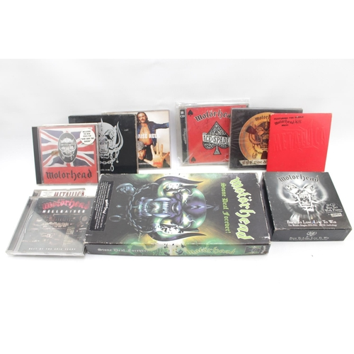 32 - Motörhead Collection; Motorhead Signed Ace of Spades Collective Disc with Full Band signatures and a...