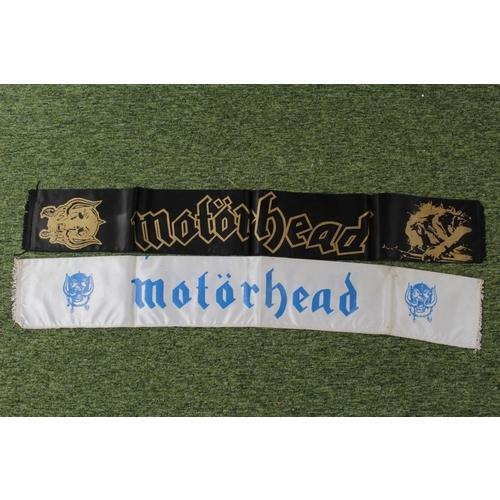 37 - Motörhead Collection; 2 Motorhead banner Scarfs...