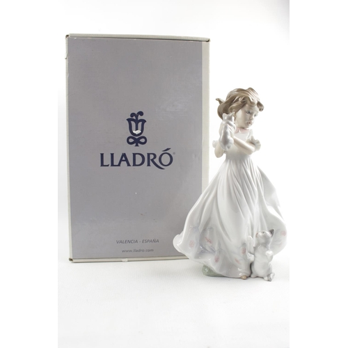 48 - Boxed LLadro figurine Kittens Gathering 6941...
