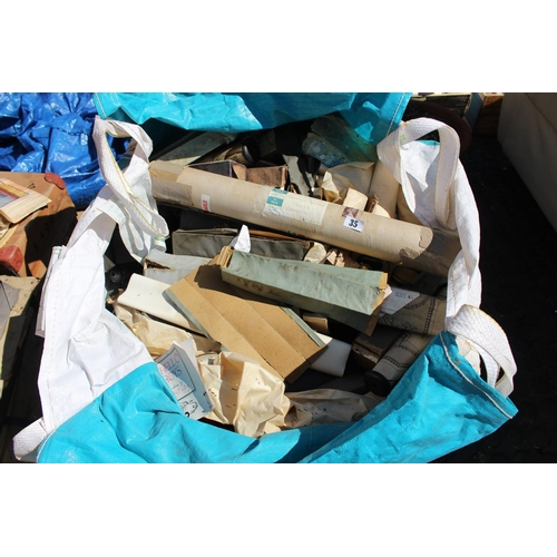 35 - Large bag of assorted Piano Rolls...