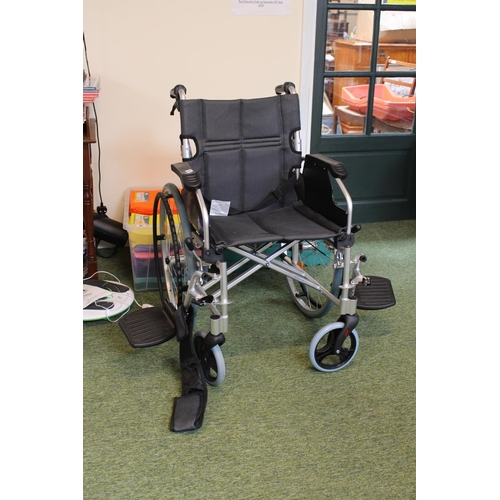 12 - Aidapt collapsible Brand New Wheelchair...
