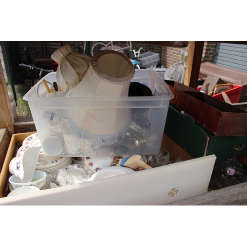 21 - Collection of assorted Ceramics and bygones...